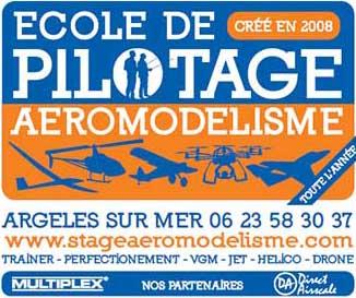 Stage d'aéromodélisme à Argelès sur Mer