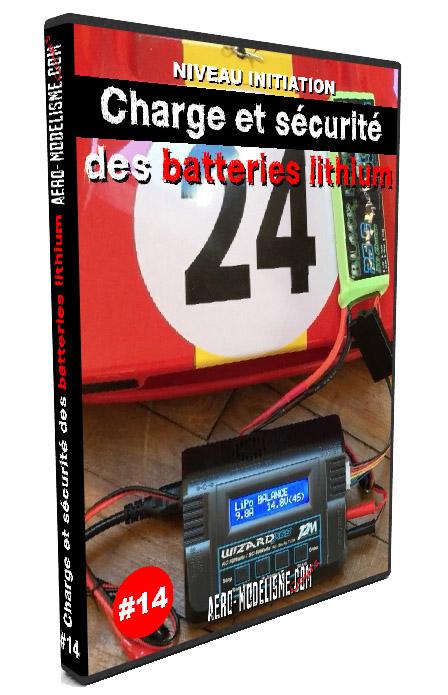 Comment charger une batterie lipo ? Danger et précautions à prendre pour charger les batteries lithium polymère. Cours aeromodelisme sur internet.