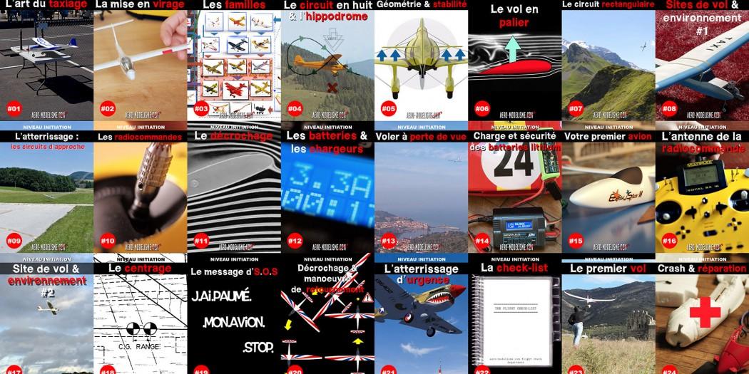 Formation pour apprendre à piloter un avion radiocommandé
