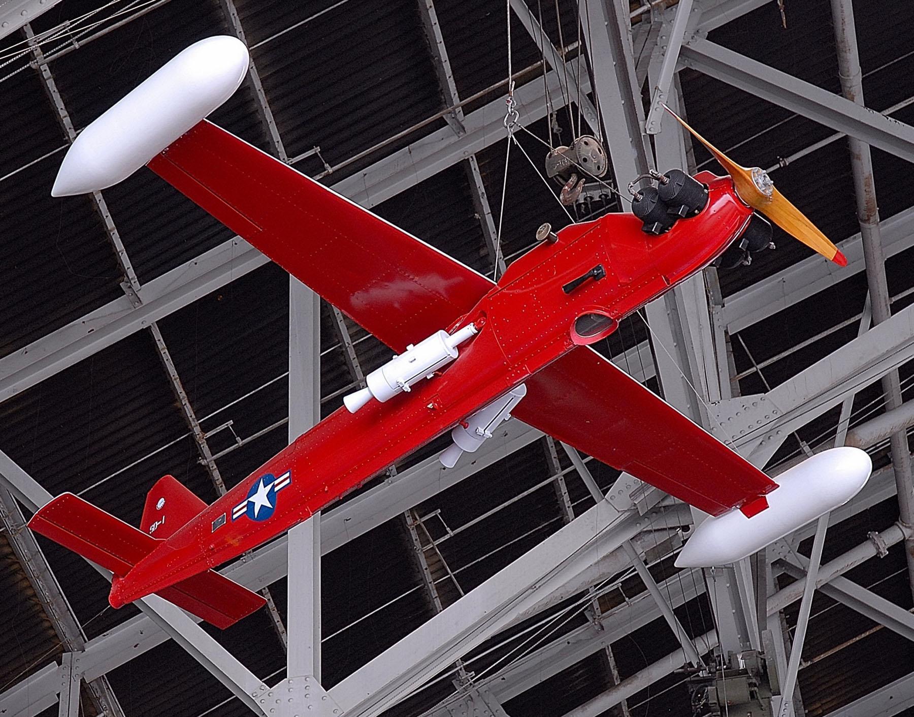 Radioplane/Northrop MQM-57 Falconer, National Museum of the United States Air Force, Dayton, Ohio. (U.S. Air Force photo)