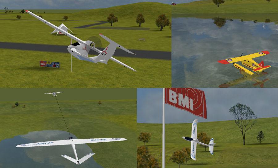 BMI simulateur avion rc