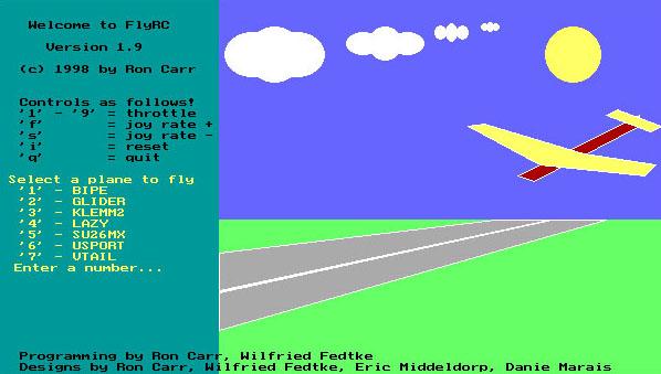 flyRC simulateur aéromodélisme