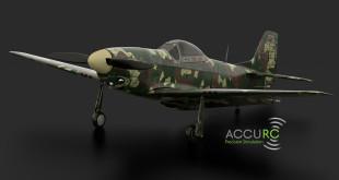 Le simulateur d'avion radiocommandé Accurc