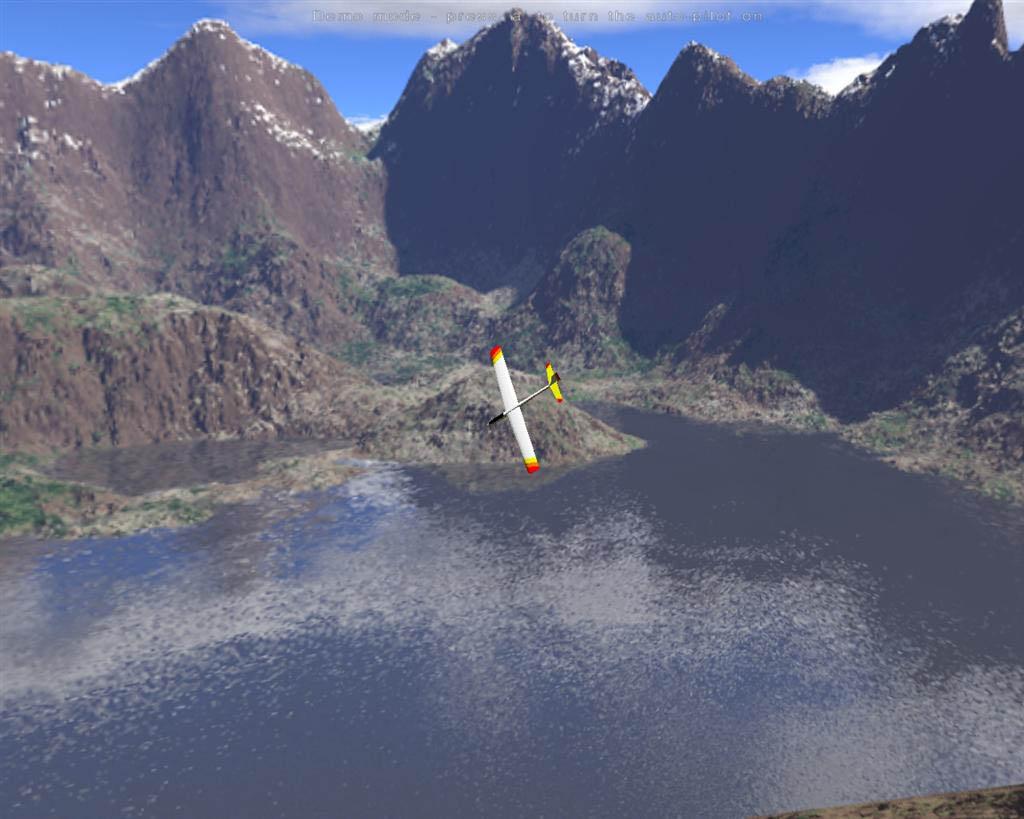 SSS ou Slope Soaring Simulator de Danny Chapman est un simulateur de planeur radiocommandé qui ensuite à permis de faire PicaSim. Logiciel Open Source.