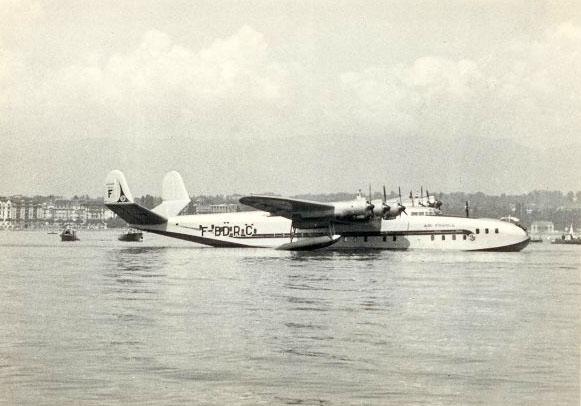 Latécoère à Genève sur le Lac Léman