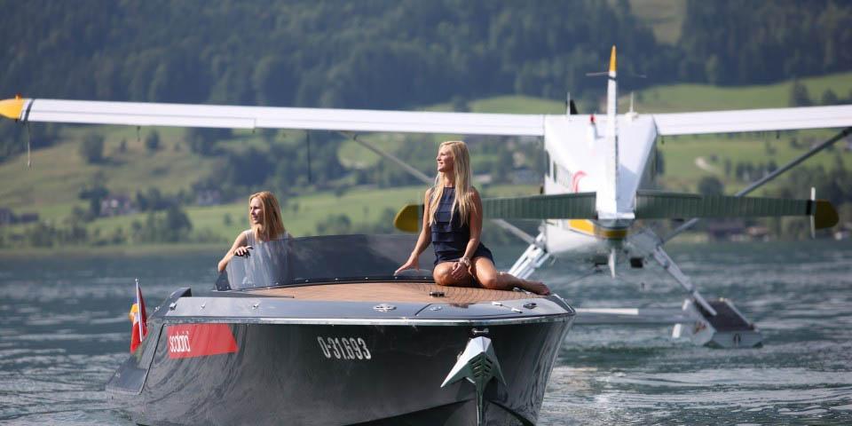 Lac de Wolfgangsee en Autriche