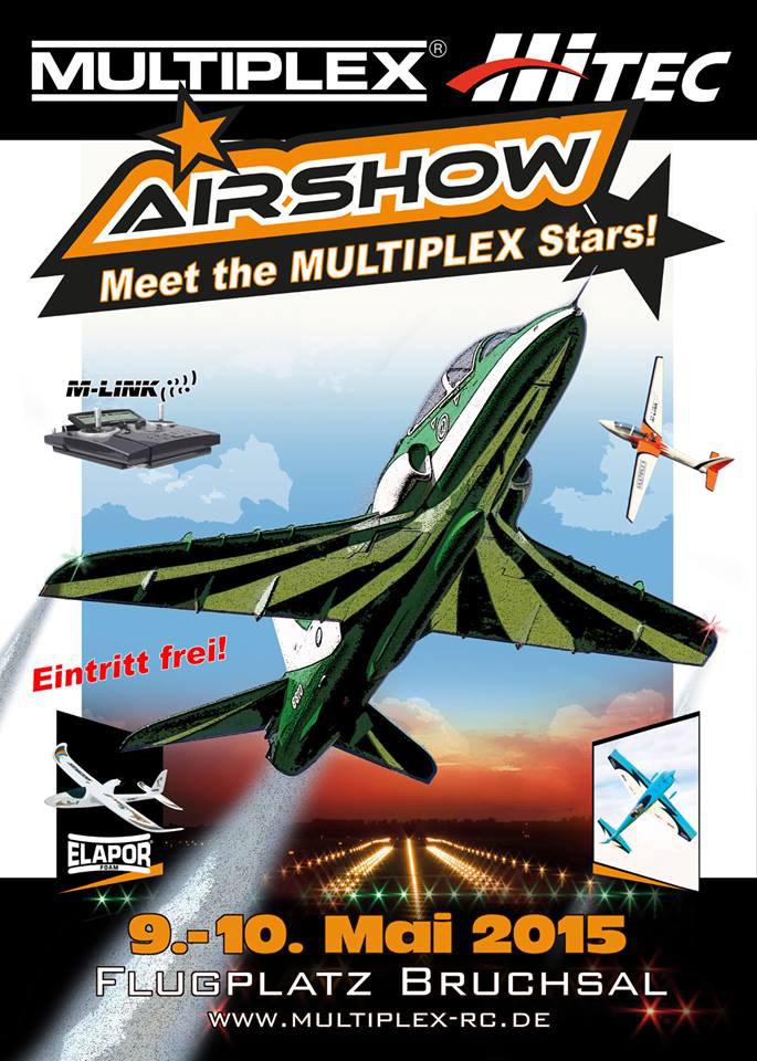 Affiche du Multiplex Airshow 2015