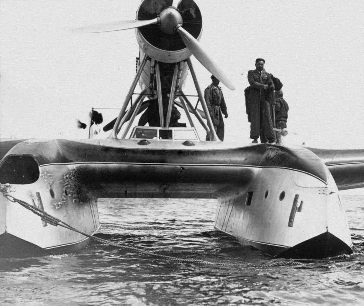 Savoia Marchetti S.55 au mouillage
