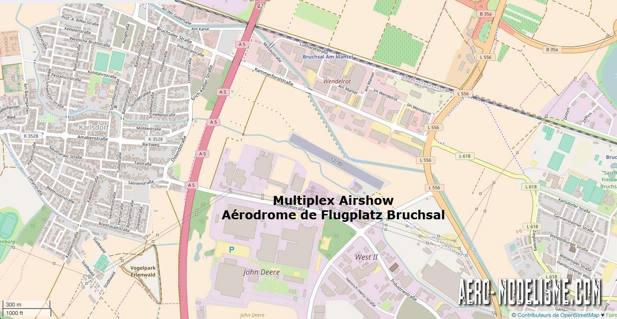 Multiplex Airshow Flugplatz Bruchsal