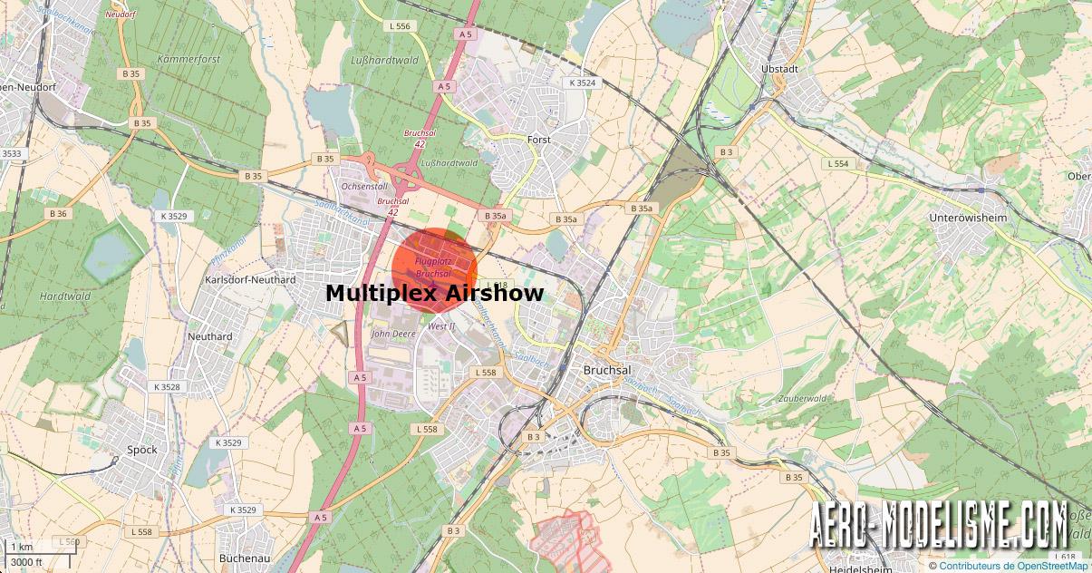 Carte Multiplex Airshow