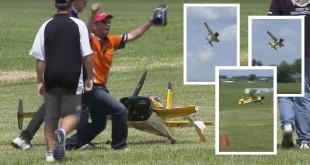 atterrissage avec une aile cassé