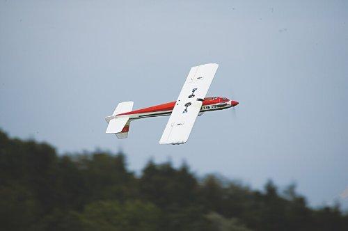 Kwik Fly mk3 version ARF en passage dos