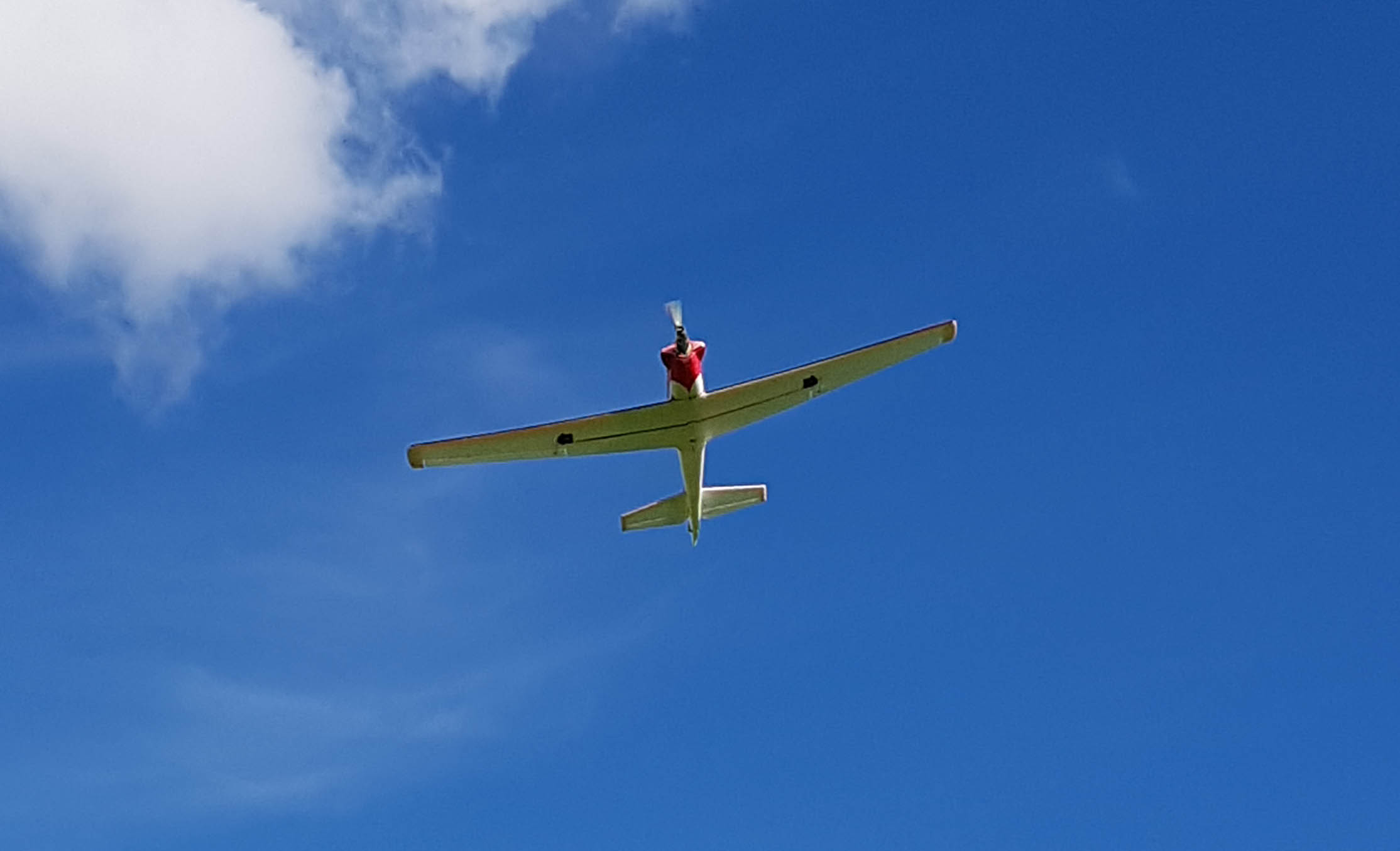 apprendre à piloter un avion rc