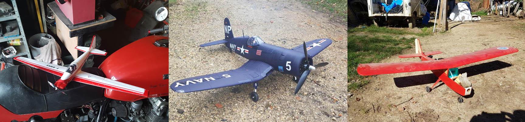 Julien c'est fait plaisir et en attendant de faire voler son Corsair neuf de chez Dynam il a pris la sage décision en cours de formation de se racheter un avion d'occasion plus facile pour les premiers vols.
