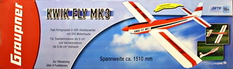 kwik fly mk3_Graupner_ARTF