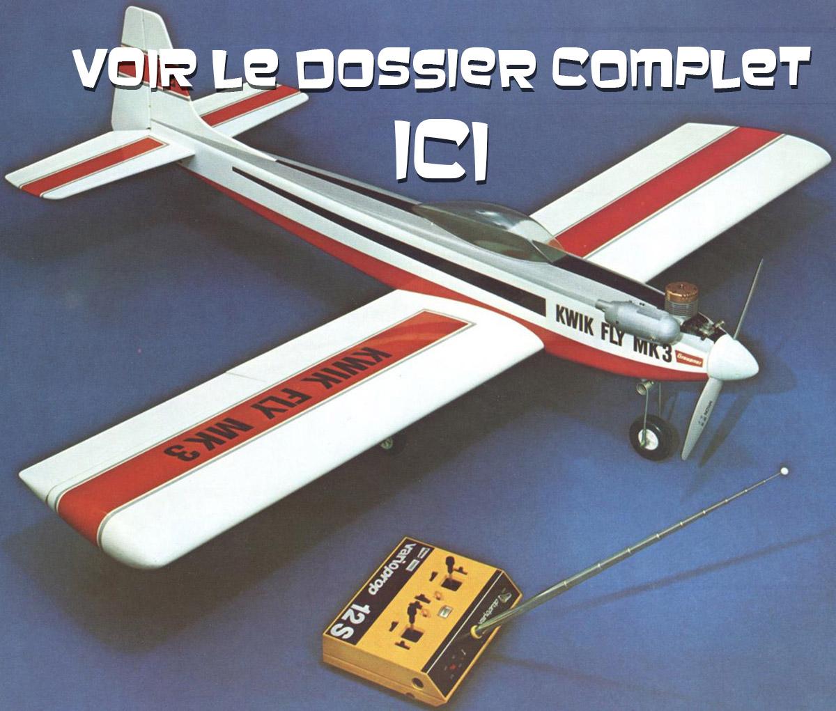 Le Kwik Fly Mk3 de Graupner