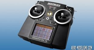 Radiocommande Multiplex cockpit SX 12