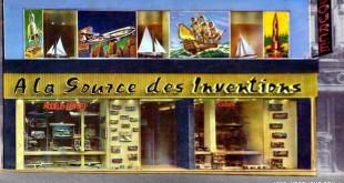 À la source des inventions, le magasin mythique de modélisme et d'aéromodélisme à Paris.