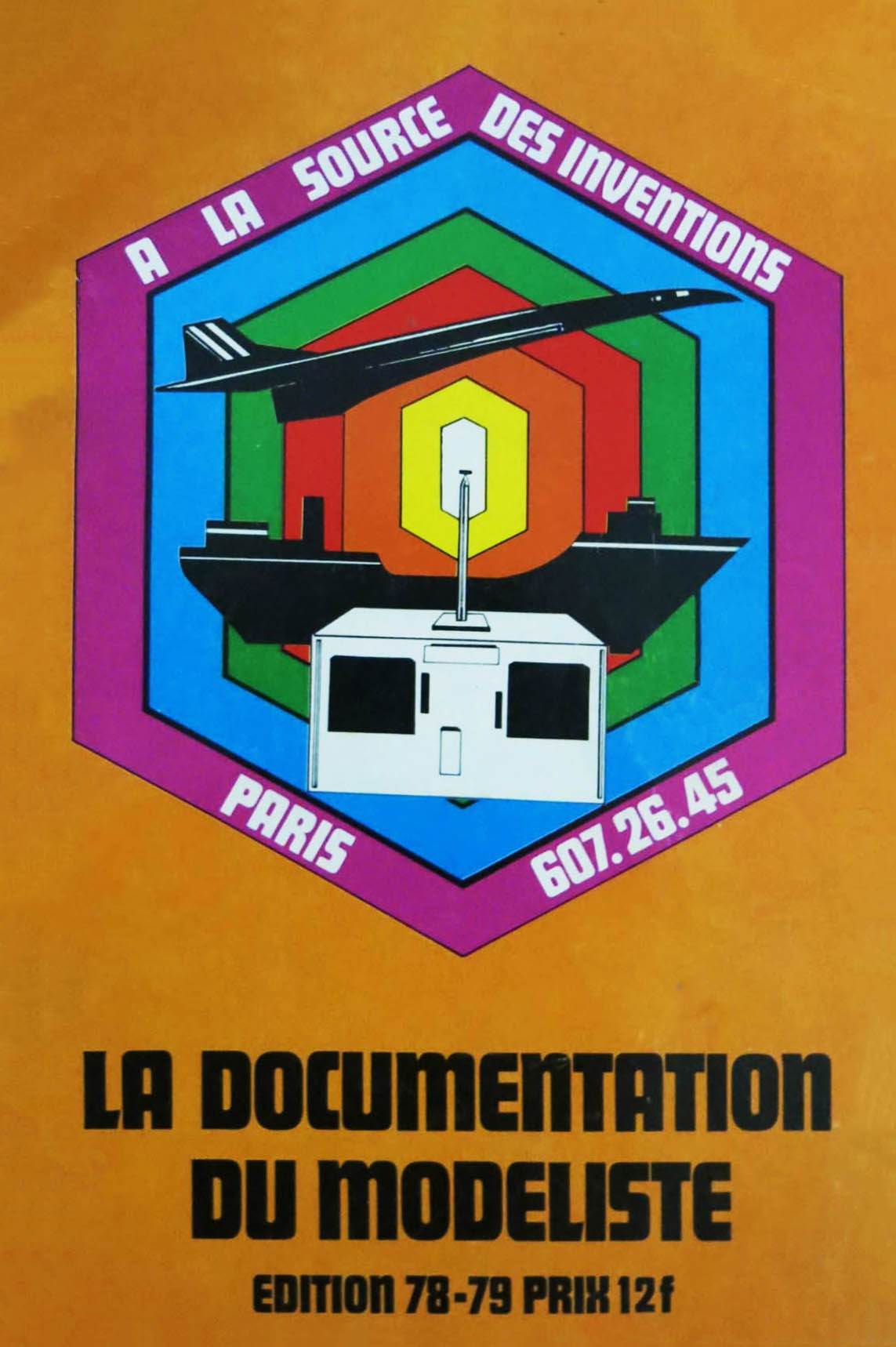 A la source des inventions, la documentation du modéliste