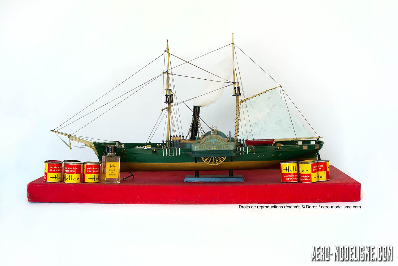 Heller_Sphinx_maquette_bateau vapeur