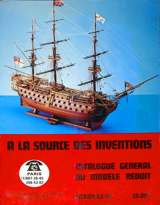 "Catalogue maquette "" À la source des inventions"""