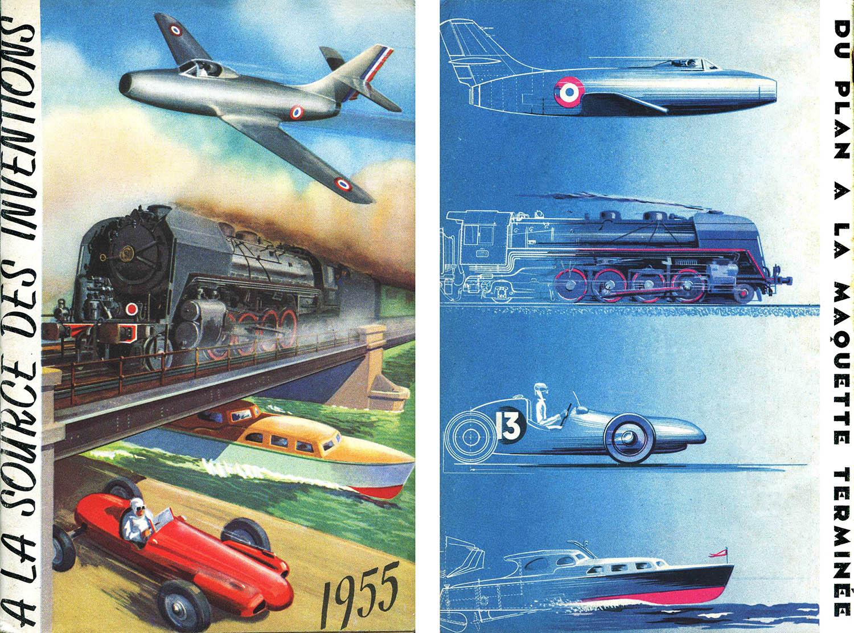 catalogue 1955_a la source des inventions_Paris_ancien magasin modélisme_aéromodélisme