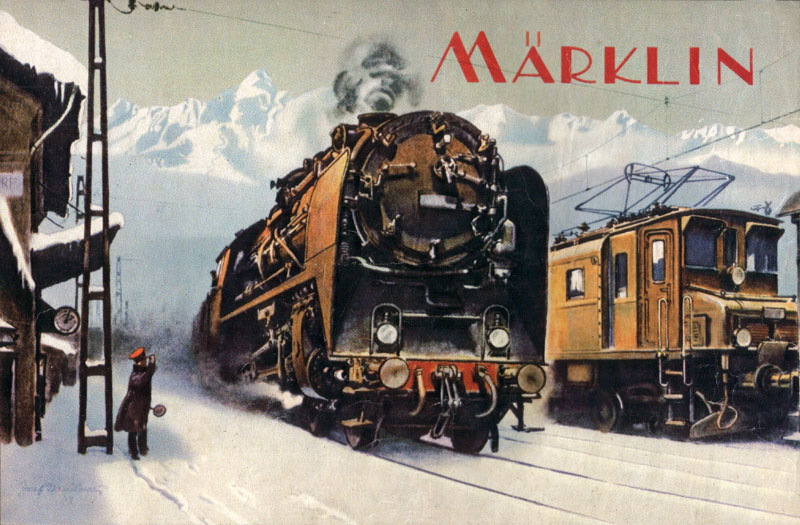 Marklin catalogue ancien