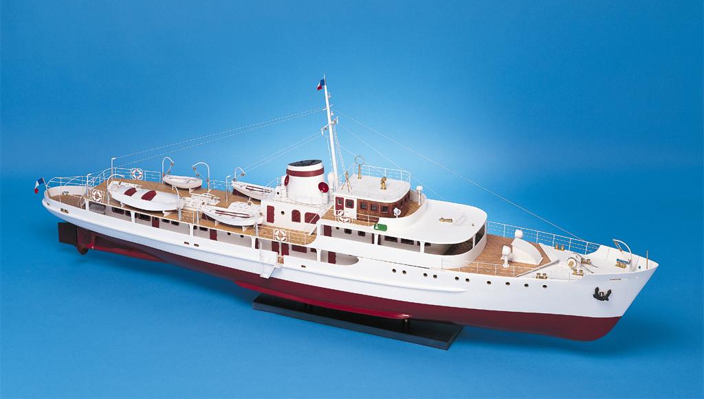 """Maquette du yacht le """"Sphinx"""""""