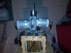 moteur avion voltige ZDZ 112cc