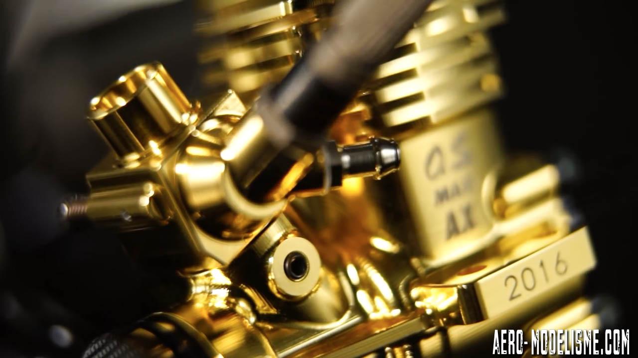 La version Gold de l'O.S. MAX-11AX