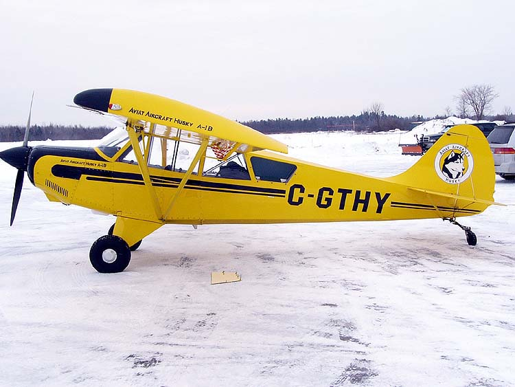 Aviat Husky à Carp Airport Ontario