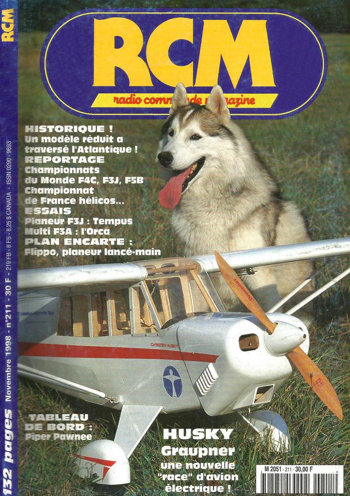 RCM n°211 essais Husky Graupner