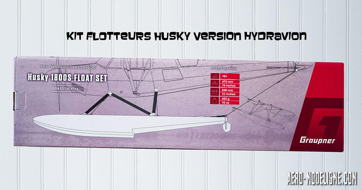"""Le """"water challenge"""" avec le kit flotteurs pour transformer votre Husky en hydravion"""
