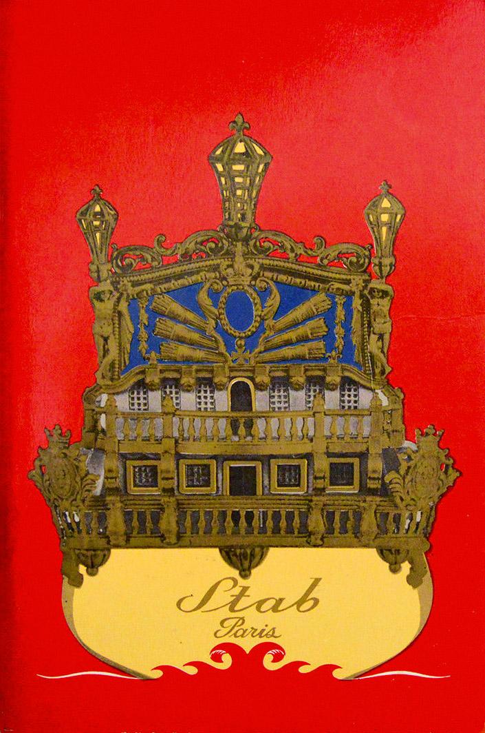 Catalogue de La Maison R. Stab - Rue Des Petits Champs, Paris