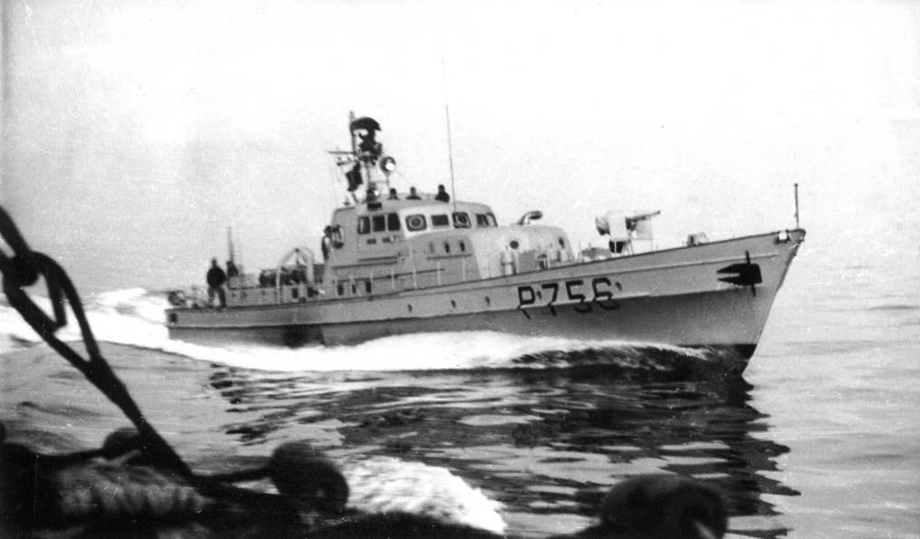 Vedette de surveillance côtière de la marine nationale