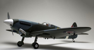 Le Spitfire Mk.V thermique de chez Kyosho envergure 1400mm.