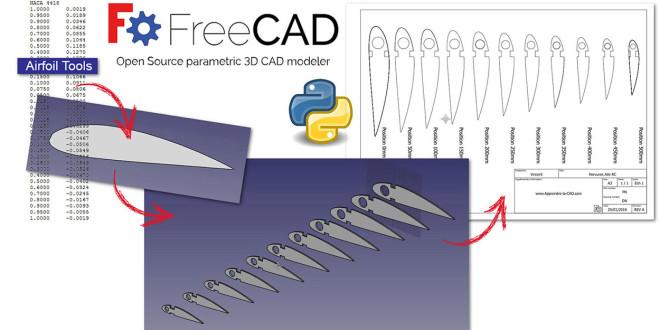 Concevoir son avion : dessiner son profil d'aile avec un logiciel de dessin gratuit