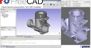 FreeCAD, logiciel de dessin 3D paramétrique gratuit. Source FreeCad/Yorik van Havre