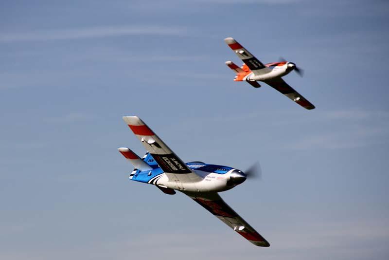 Au programme : courses aux pylônes et combat aérien avec banderoles