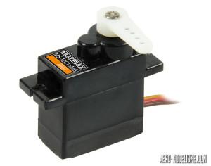 Servos digital (x4) pignonerie métale fournis avec le FunRacer  #1-00605 Servo Multiplex MS 12016 Mg Digi