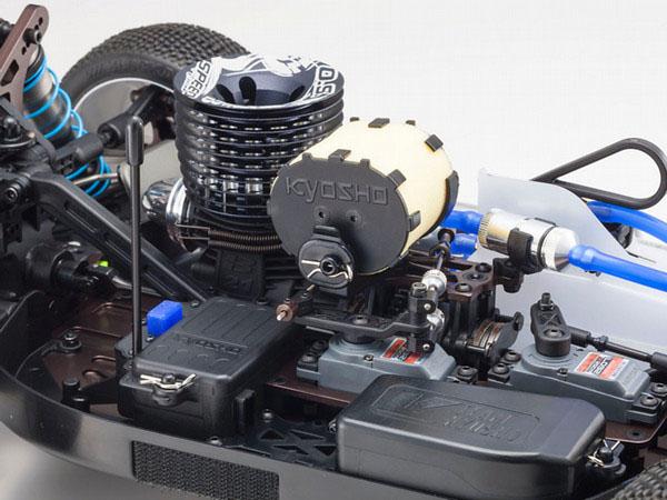 En premier plan les compartiments pour l'électronique de l'Inferno MP9 TKI4.