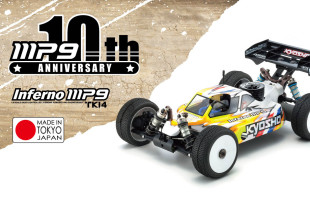 Kyosho INFERNO MP9 TKI4 10th Anniversary Special Edition
