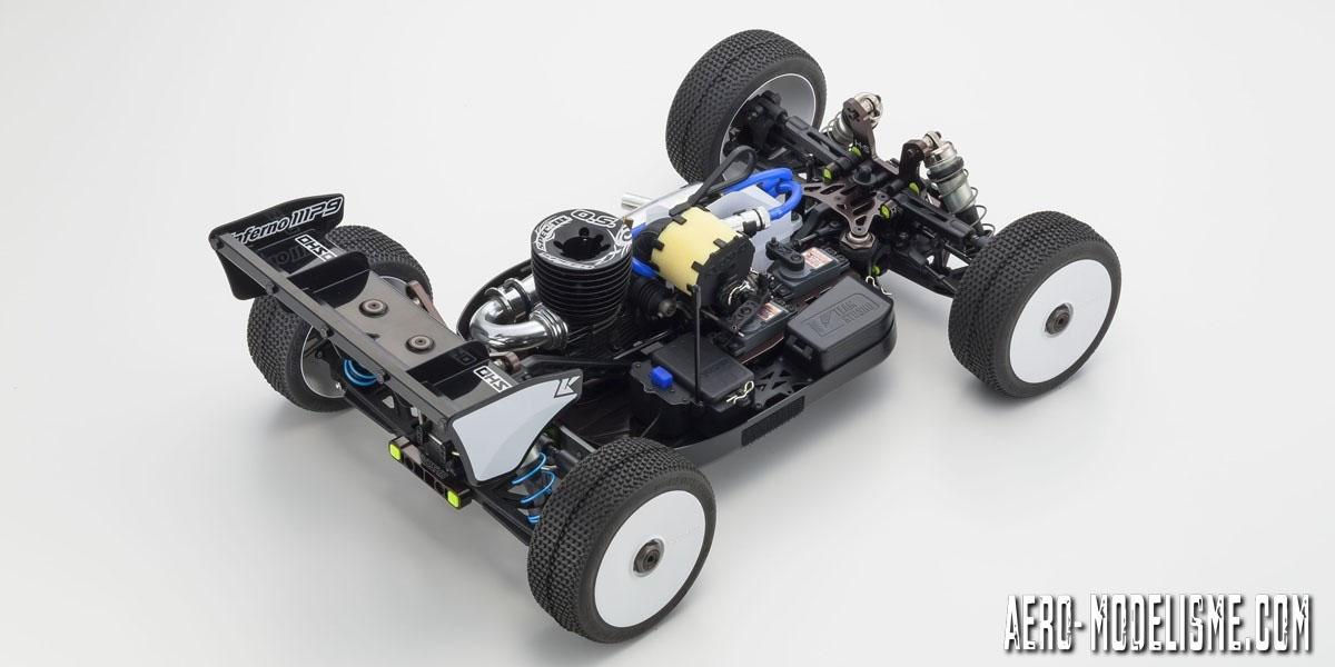Kyosho INFERNO MP9 TKI4 10th Anniversary Special Edition, un buggy échelle 1/8 de la catégorie reine en TT.