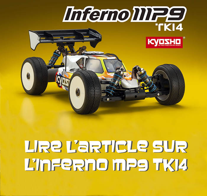 Le Kyosho Inferno MP9 TKI4