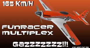 Le FunRacer de Multiplex, taillé pour la course radiocommandée