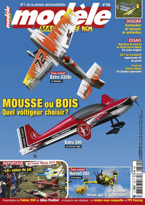 N° 782 Modèle Magazine