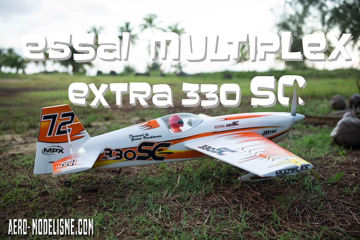 Multiplex Extra 330 SC édition Gernot Bruckmann