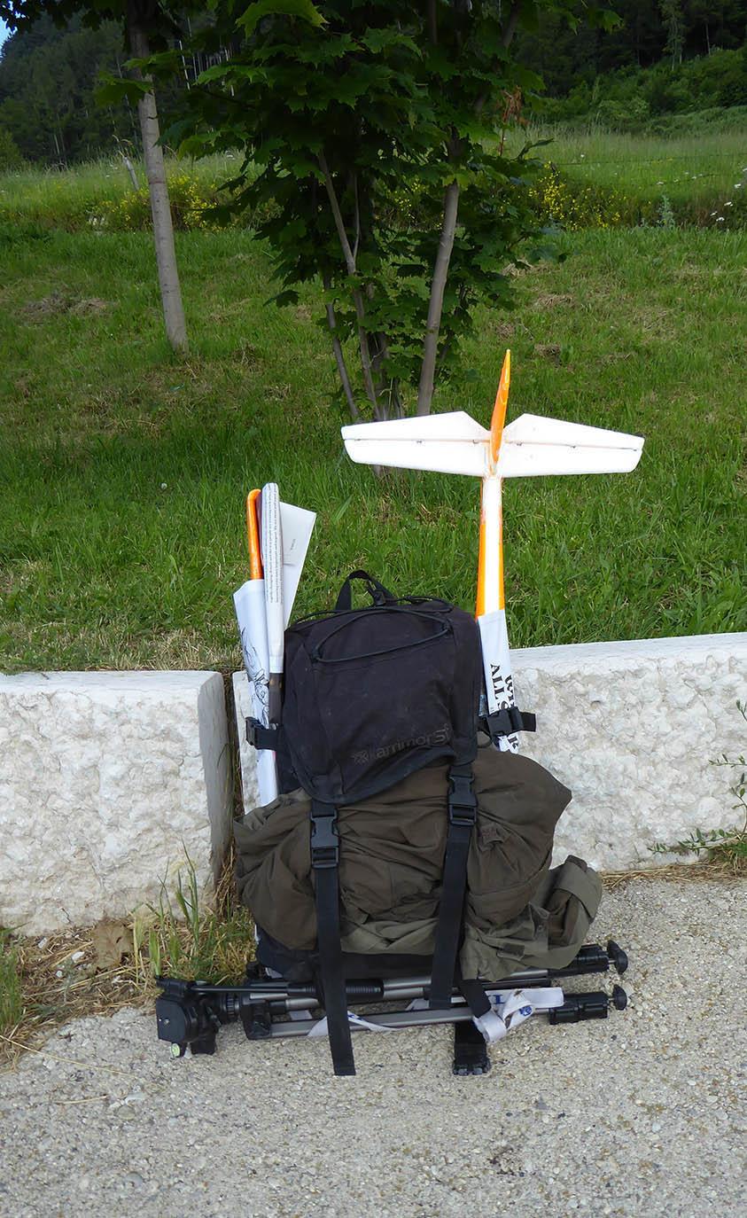 Package de Stefano pour une randonnée planeur
