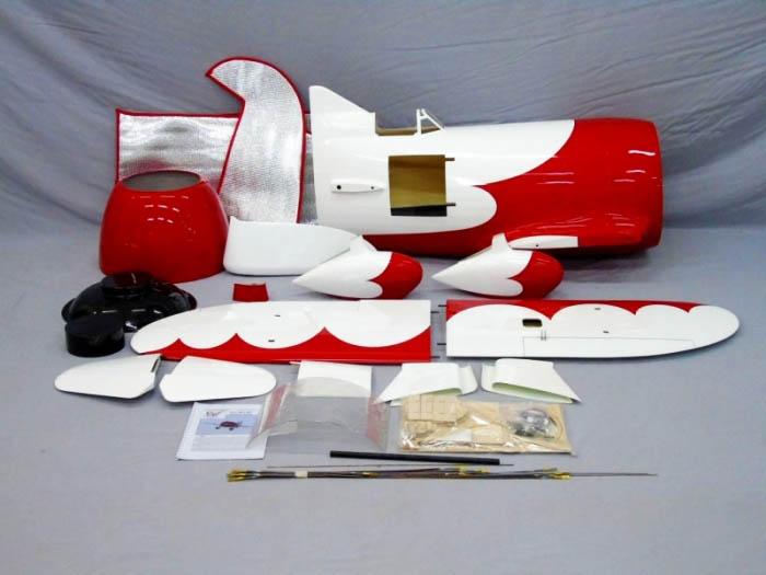 Le kit Carf Models du Gee Bee radiocomandé.