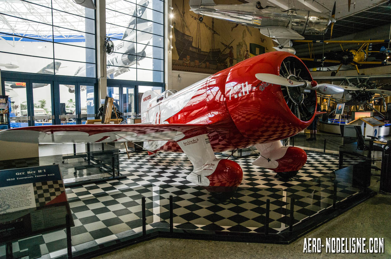 Gee Bee R1, San Diego Air and Space Museum.